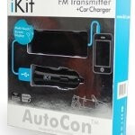 AutoCon FM transmitter from iKit packs touch sensitive controls for your iPhone