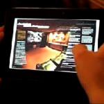 Video shows off more of the BlackBerry PlayBook and the views of Mike Lazaridis