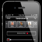 Jawbone THOUGHTS app offers audio messaging on the iPhone