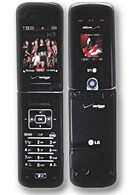 LG VX8600 Chocolate info and pictures