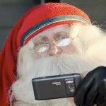 Ho Ho Ho! Santa uses Nokia N8 with Ovi Maps instead of Rudolph's nose