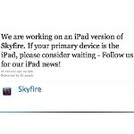 Flash-playing Skyfire Browser soon heading to the iPad