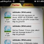 Apple caves in, removes the Wikileaks app from the App Store
