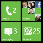 The dedicated Facebook app for WP7 updated