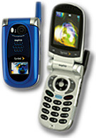 Sanyo announces SCP-8400 clamshell phone