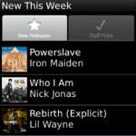 Rhapsody for BlackBerry out of Beta, offers library of 10 million tunes