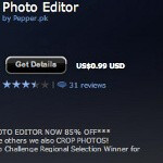 Pakistan-made Photo Editor Suite is the best selling app in the BlackBerry universe