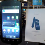 42 inch Google Nexus S on display at Best Buy in San Carlos; try fitting that in your pocket