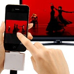 HDMI adapters for your iPhone 4 and iPad come courtesy of NOOSY and Sanwa