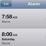 The alarm clock on your Apple iPhone stopped working starting today, will fix itself on January 3rd