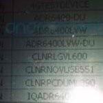 Verizon's system ponies up SKUs for the HTC Thunderbolt & Samsung SCH-i520