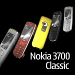 Nokia 3700 Classic curved phone stayed forever a concept