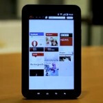 Opera tailors its browser specifically for Android tablets