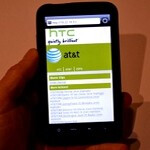 HTC prototype of an LTE phone for AT&T breaks cover