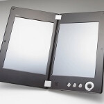 NEC LT-W Cloud Communicator is a dual-screen Android tablet with a 3G option