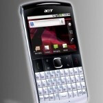 Acer beTouch E210 announced, packing portrait QWERTY and Froyo
