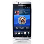 Take a closer look at Sony Ericsson Xperia Arc in misty silver