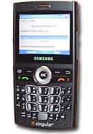 Live shots of Cingular's Samsung i607