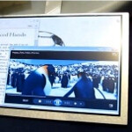 """7"""" Pixel Qi transflective display handled on video, higher resolutions in the pipeline"""