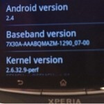 Gingerbread 2.4 numbering on some Sony Ericsson Xperia Arc units a configuration error
