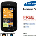 NewEgg is selling certain AT&T Windows Phone 7 devices for free