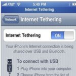 AT&T is tinkering with the notion of using the new hotspot feature for the iPhone
