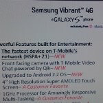 T-Mo soon to offer Samsung Vibrant 4G with 21+ Mbps speeds, Froyo and a front-facing camera