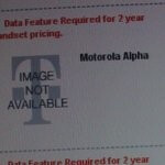 Internal doc shows off a Motorola Alpha - which is more than likely to be the CLIQ 2?