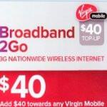 "Virgin Mobile's Broadband2Go ""unlimited"" data plan will see throttled speeds"