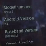 One more handset runs Android 2.4, is it an improved Nexus S?