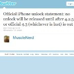 iPhone dev says not to expect a new unlock tool before iOS 4.2.5/4.3 is out