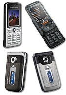 Sony Ericsson announces new phone models