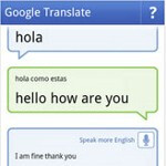 Google Translate Conversation Mode Test
