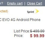 Amazon chops the price of the HTC EVO 4G in half to $99