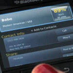 Once used on an Apple iPhone ad, Urbanspoon stars in BlackBerry App World's 2nd television spot