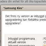 Samsung Galaxy S I9000 update for Android 2.2.1 is available through Kies
