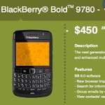 WIND nabs the BlackBerry Bold 9780 & is selling it for $450