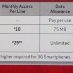 Verizon changing the data plan pricing for their feature phones