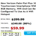 Verizon's Palm Pixi Plus can be picked up for $60 no-contract