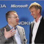 Nokia chairman Jorma Ollila picked Stephen Elop as CEO under threat