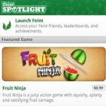 Feint Spotlight 1.1 brings more social gaming features to Android