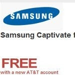 Wirefly sets the price of the Samsung Captivate to free - down from $49.99