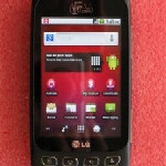 Virgin Mobile's LG Optimus V already for sale
