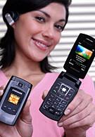 Samsung SGH-A707 - HSDPA capable phone for Cingular