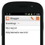 Official Blogger app arrives on Android