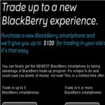 RIM announces their BlackBerry Trade-Up Program for the US