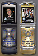 T-Mobile launches second generation RAZR V3t and V3i D&G