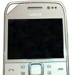 Nokia E6 surfaces in the wild