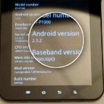 Samsung Galaxy Tab receives an unofficial Gingerbread support (still a public beta)