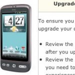Android 2.2 Froyo update for the US Cellular HTC Desire is now available